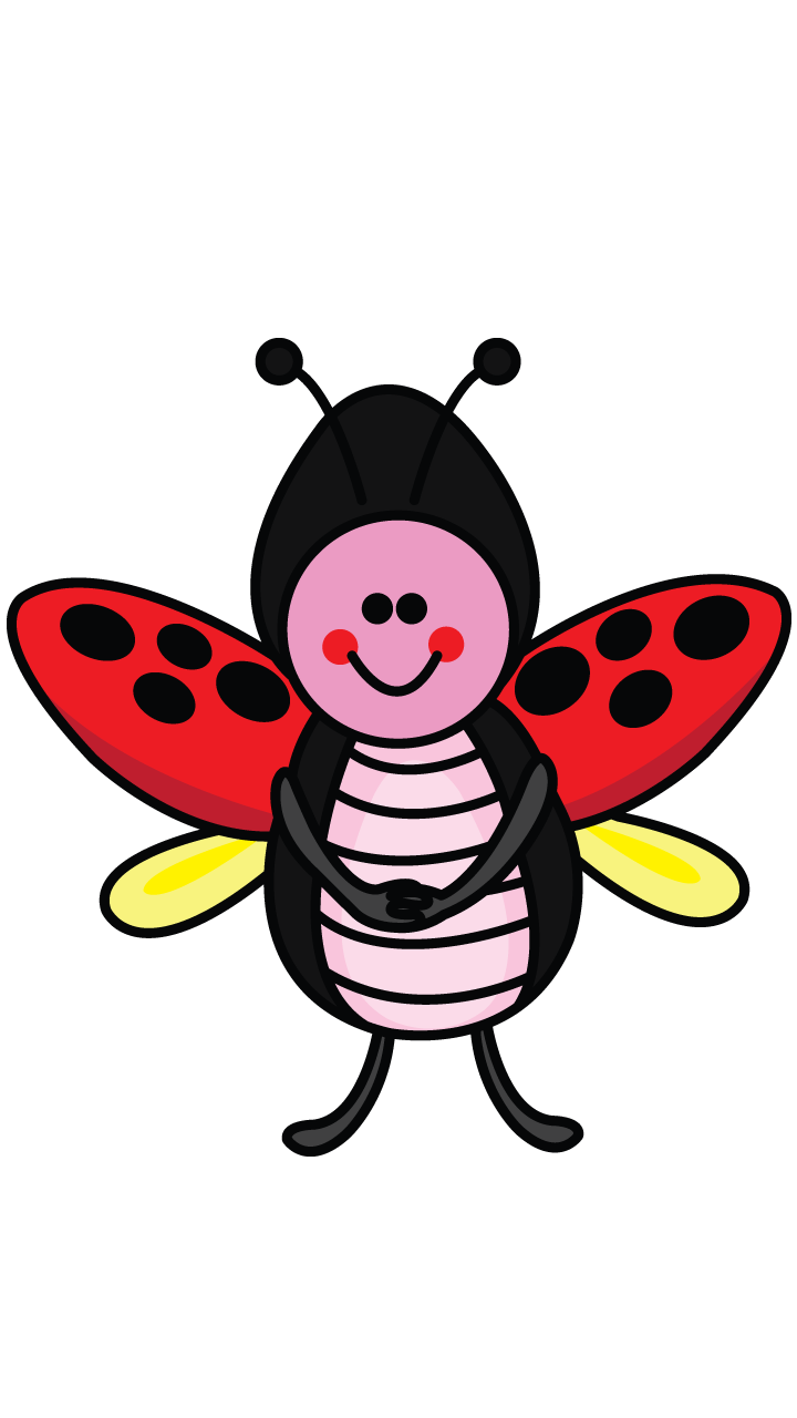 Drawing ladybug. How to draw a