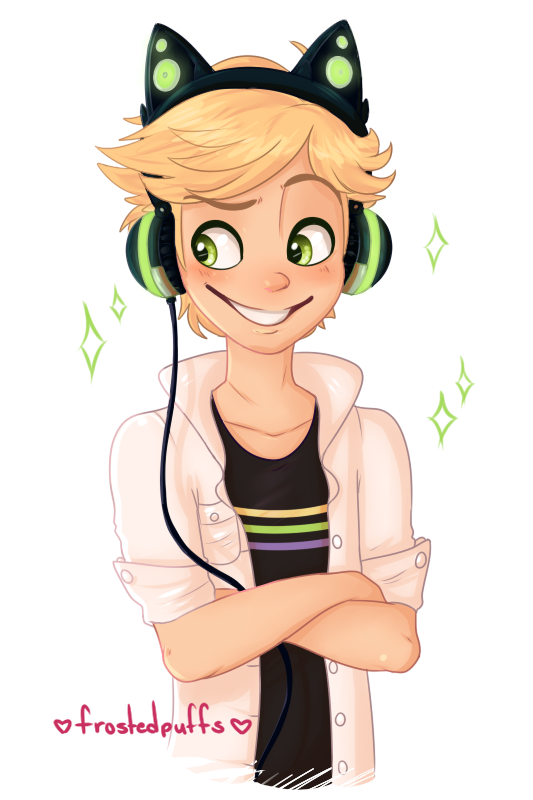Drawing ladybug adrien. There was a mention