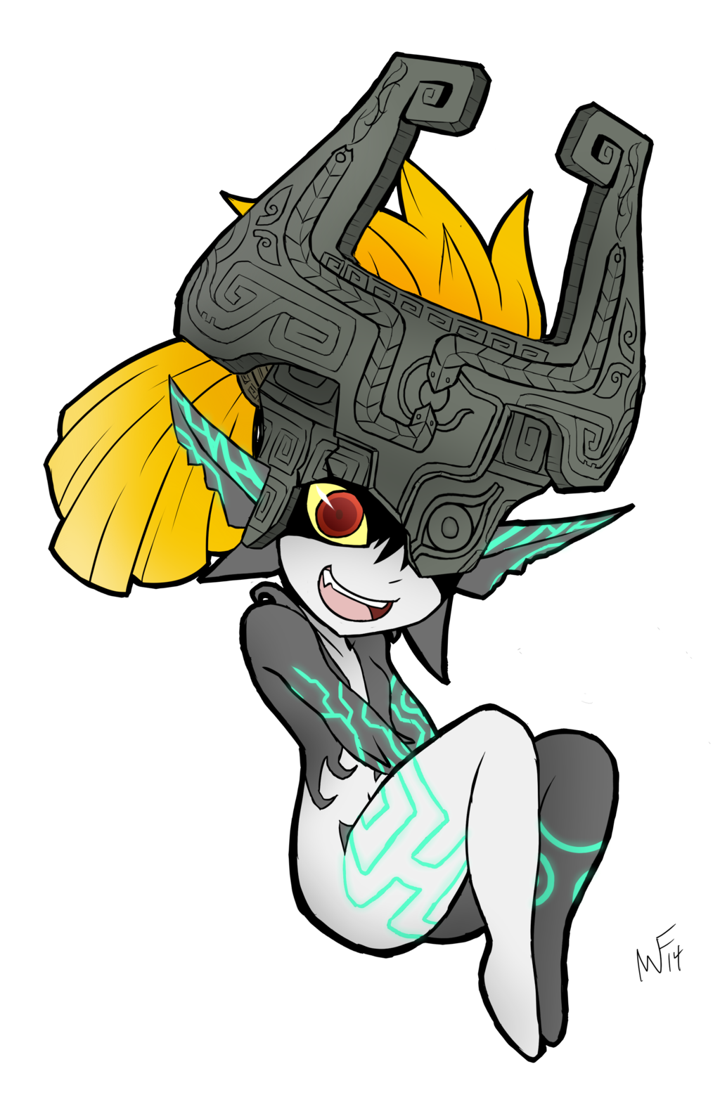 Drawing legend draw midna