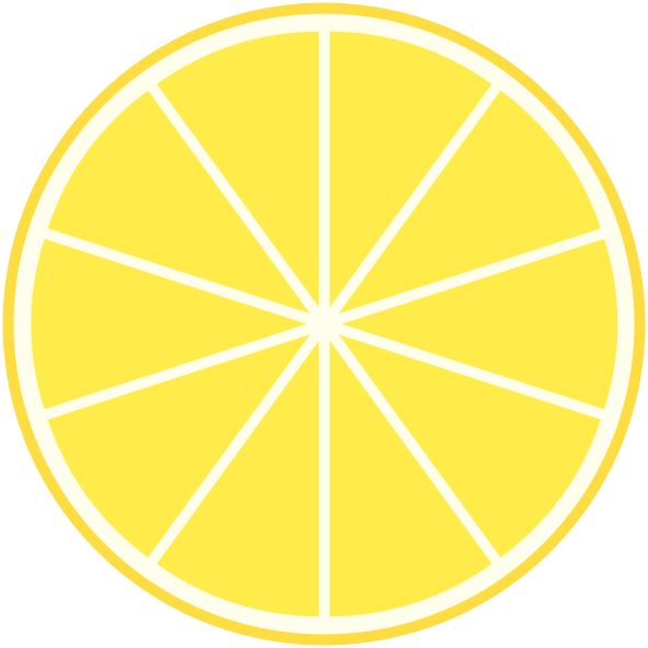 Drawing lemon lemonade. Day flat icon mapdiva