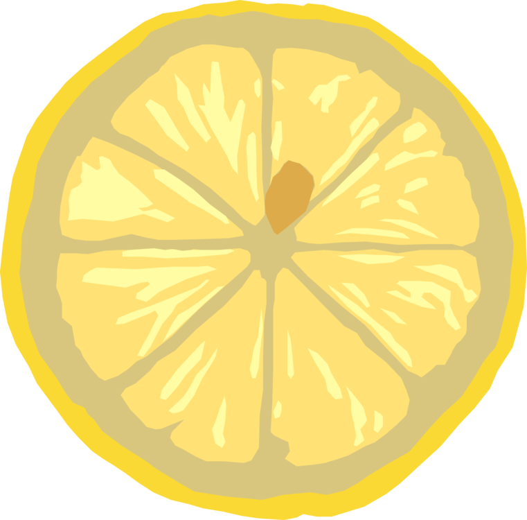 Drawing lemon fruit color. Computer icons encapsulated postscript