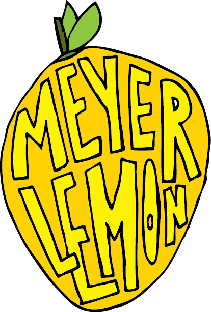 Drawing lemon meyer. By jana miller lemonssss