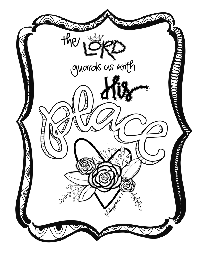 Drawing letter buble. Free coloring page outlining