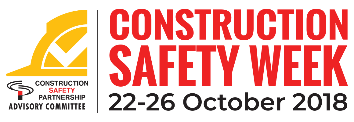 Drawing letter safety. Week activities construction industry