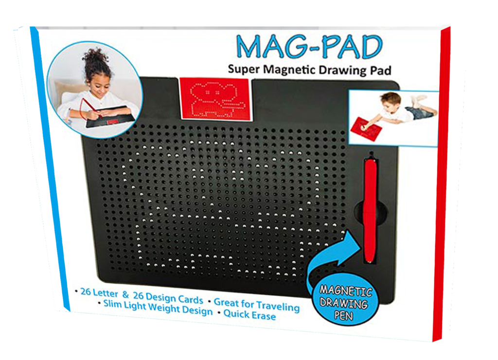 Drawing letter safety. Mag pad leading edge
