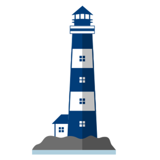 Drawing lighthouse construction. Blog commercial real estate
