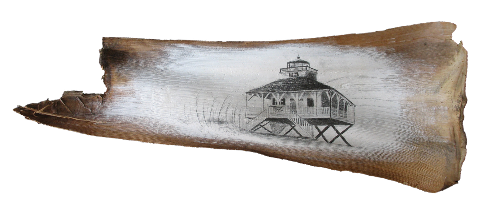 Drawing lighthouses sea. Penelope waited looking at