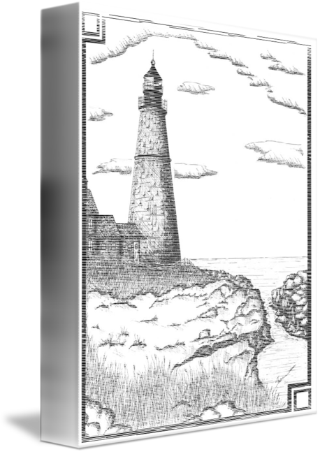 Drawing lighthouses hatching. Shane paintings search result