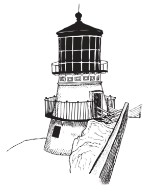 Drawing lighthouses beacon. Gregory purifoy portfolio lighthousepng