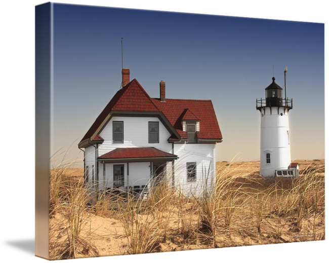 Drawing lighthouses 2 point perspective. Race lighthouse landscape by