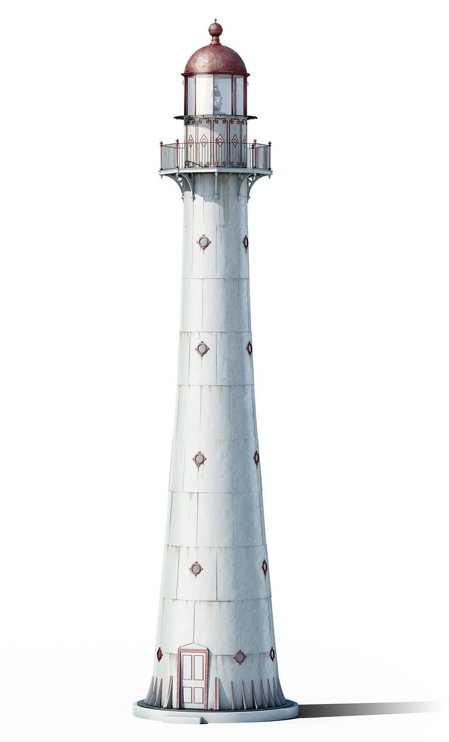 Drawing lighthouses old lighthouse. Kihnu rain saukas d