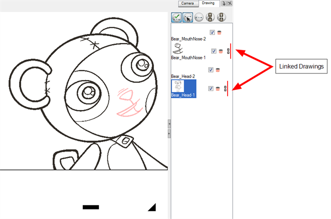 Drawing resources head. Animate online help shift