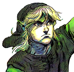Drawing link realistic. Design by kyle hefley