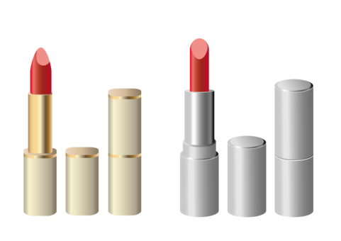 Drawing lipstick coco chanel. Cosmetics grounded goodwife adios