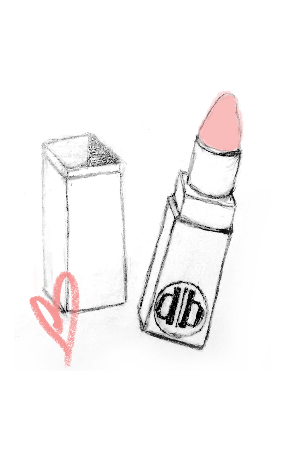 Drawing lipstick sketch. Services lipstickpng