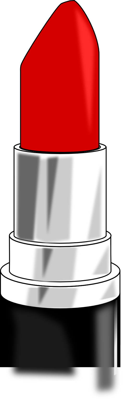 Drawing lipstick tube. Lips clipart pencil and