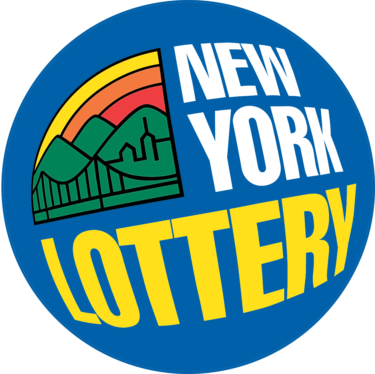 Ticket svg drawing. New york lottery wikipedia