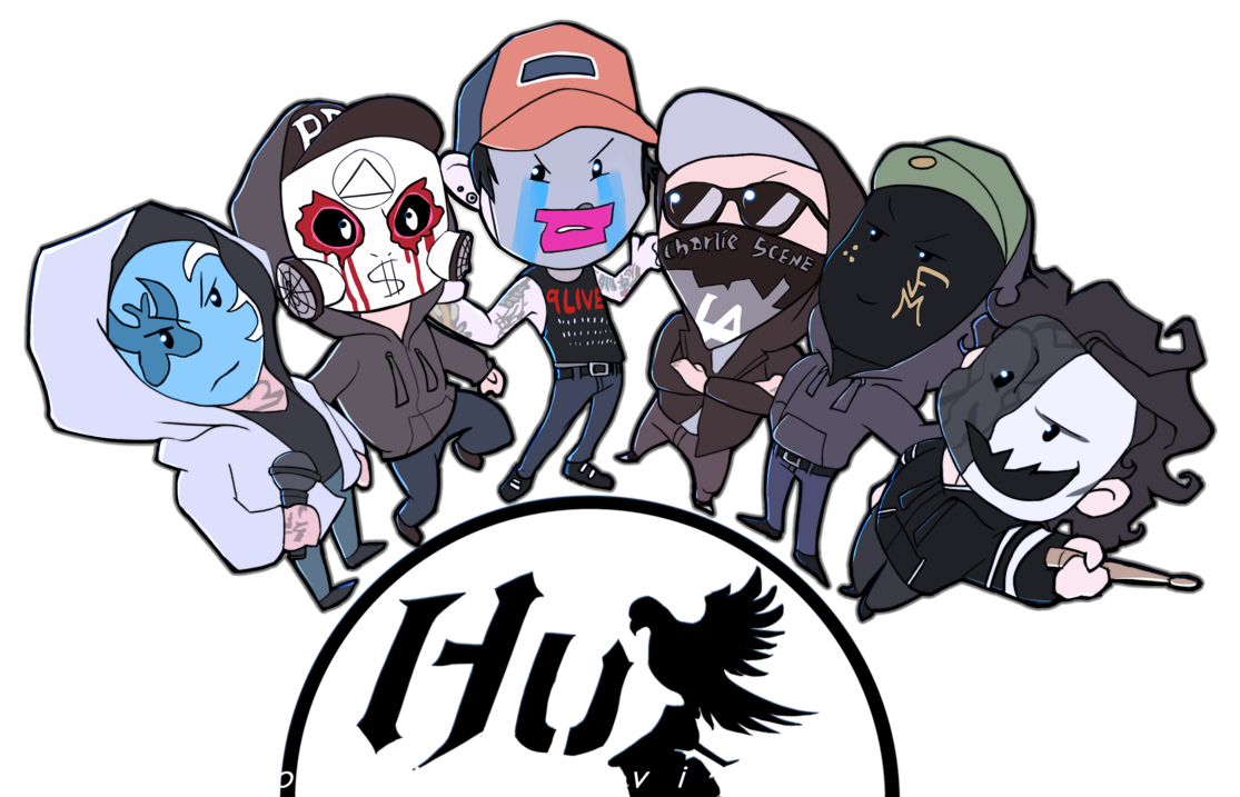 Drawing lyrics hollywood undead. Chibi deuce vers by