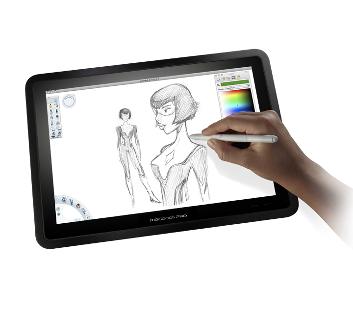 Drawing mac tablet. Configure your modbook pro
