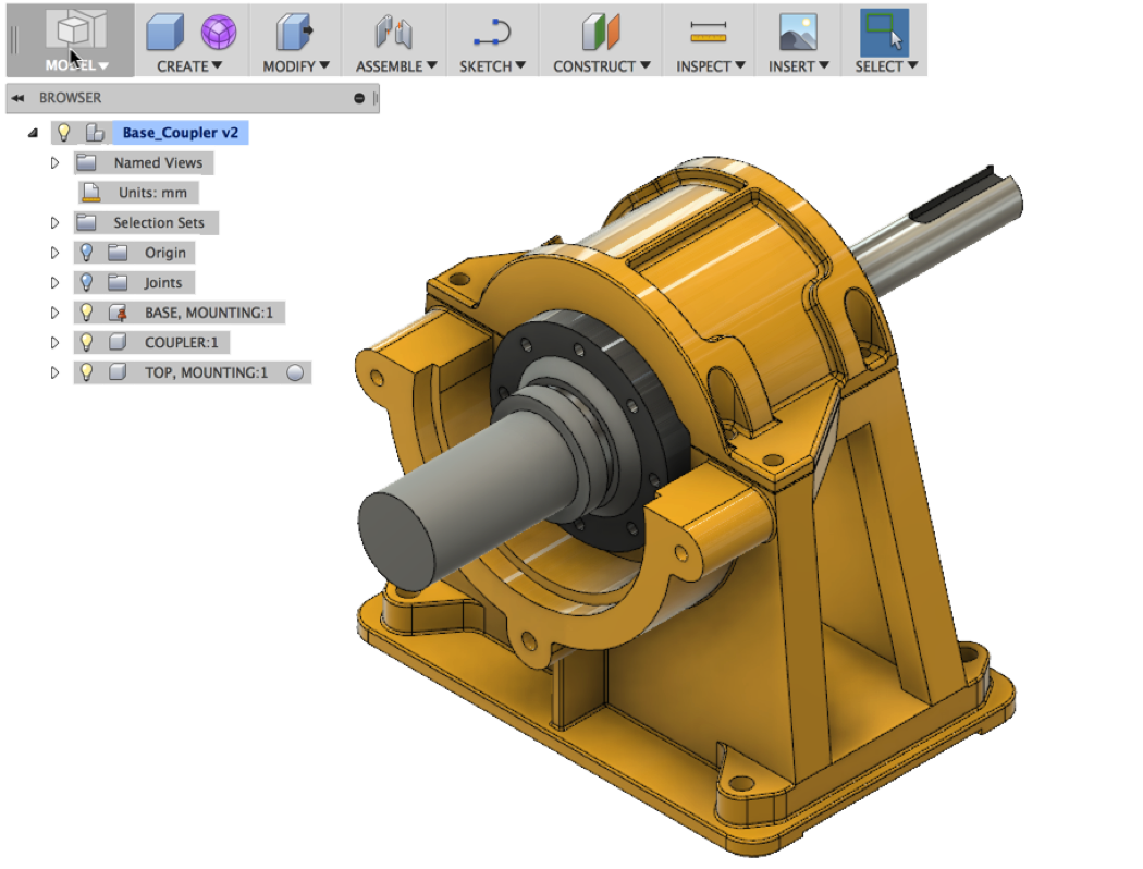 From solidworks to fusion. Drawing machinery engineering clip black and white