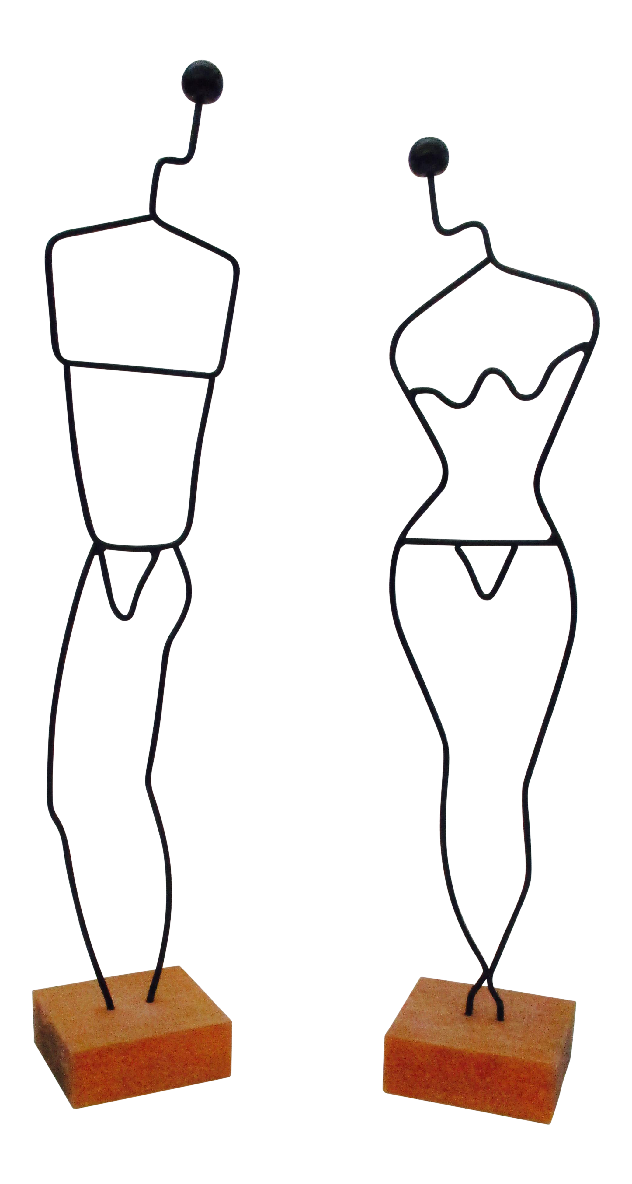 Drawing mannequins clipart. Danish modern wire mannequin