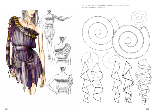 Drawing mannequins fashion design. Details the virtual bookstor