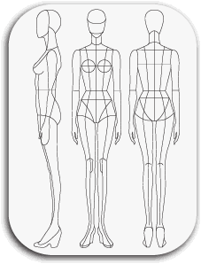 Drawing mannequins diy. Http pretatemplate com download