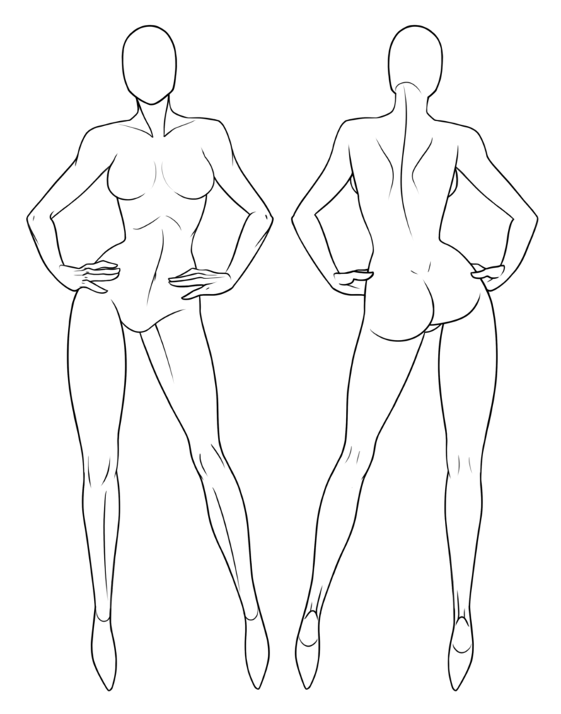 Drawing mannequins easy. Female mannequin at getdrawings