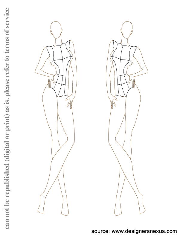 Drawing mannequins fashion design. Pin by danica on