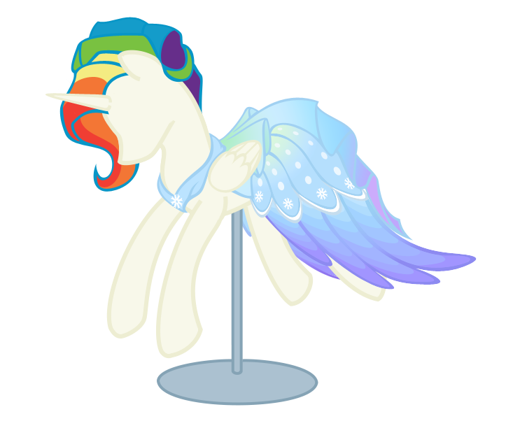 Drawing mannequins mlp pony. Contest entry aurora by