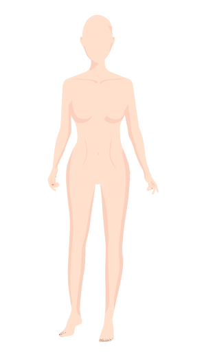 Drawing mannequins virtual. Model me create the