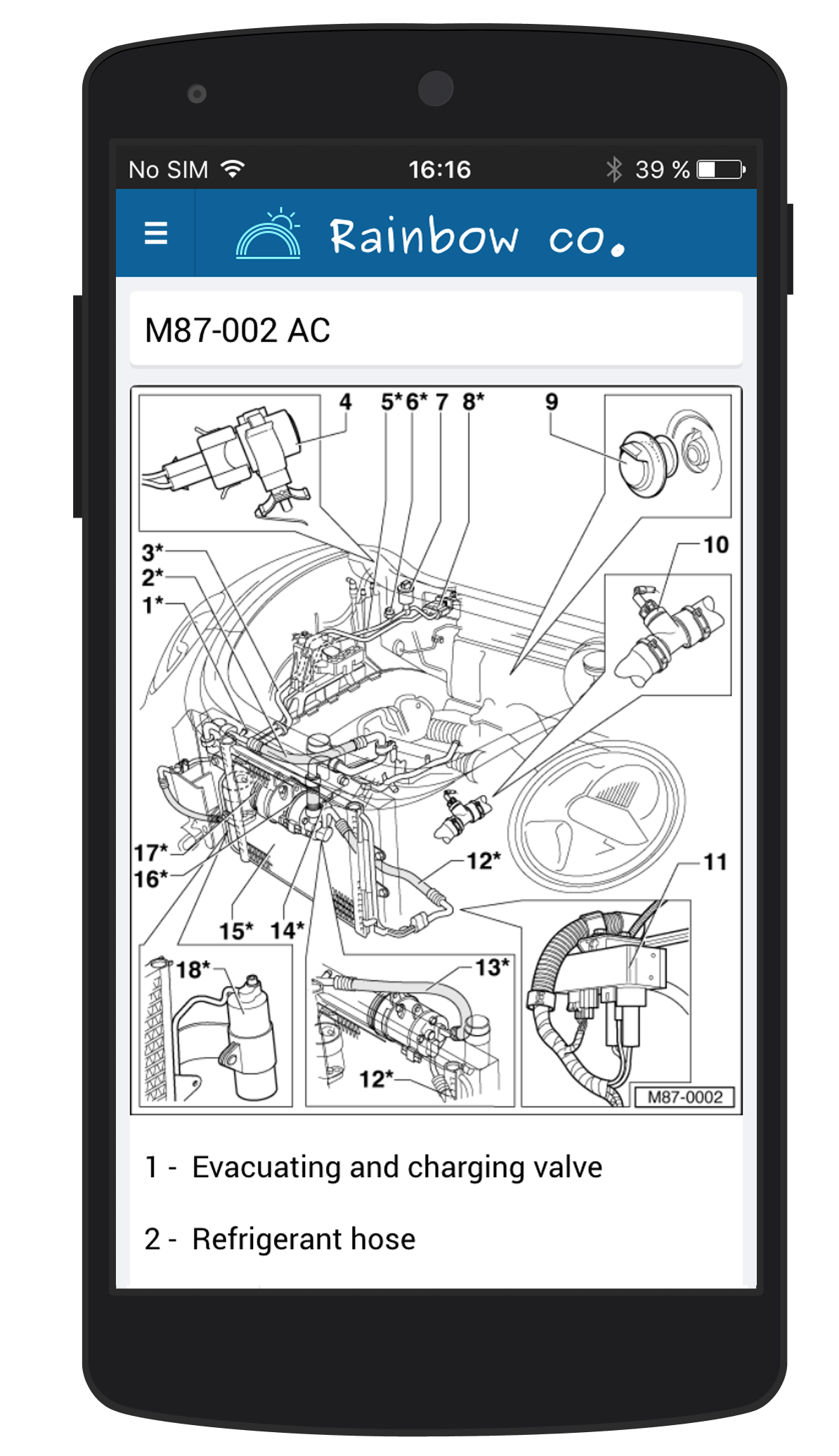 Drawing manuals app. Field workoforce effortix mobile