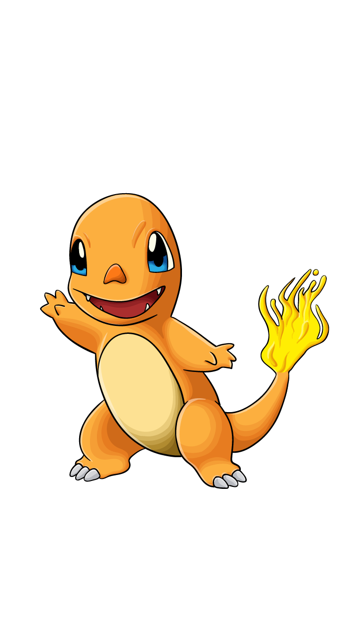 Drawing manuals drawissimo. Charmander pokemon step by