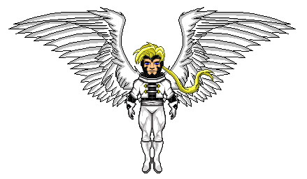 Drawing marvel angel. Age of apocalypse microheroes