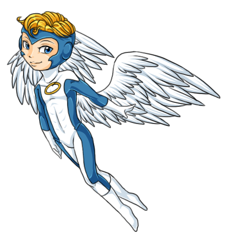 Xmen drawing archangel. Chibi warren angel by
