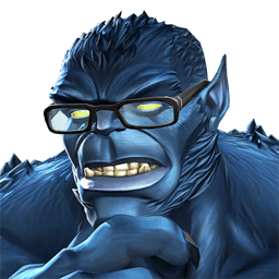 Drawing marvel beast. Image portrait png contest