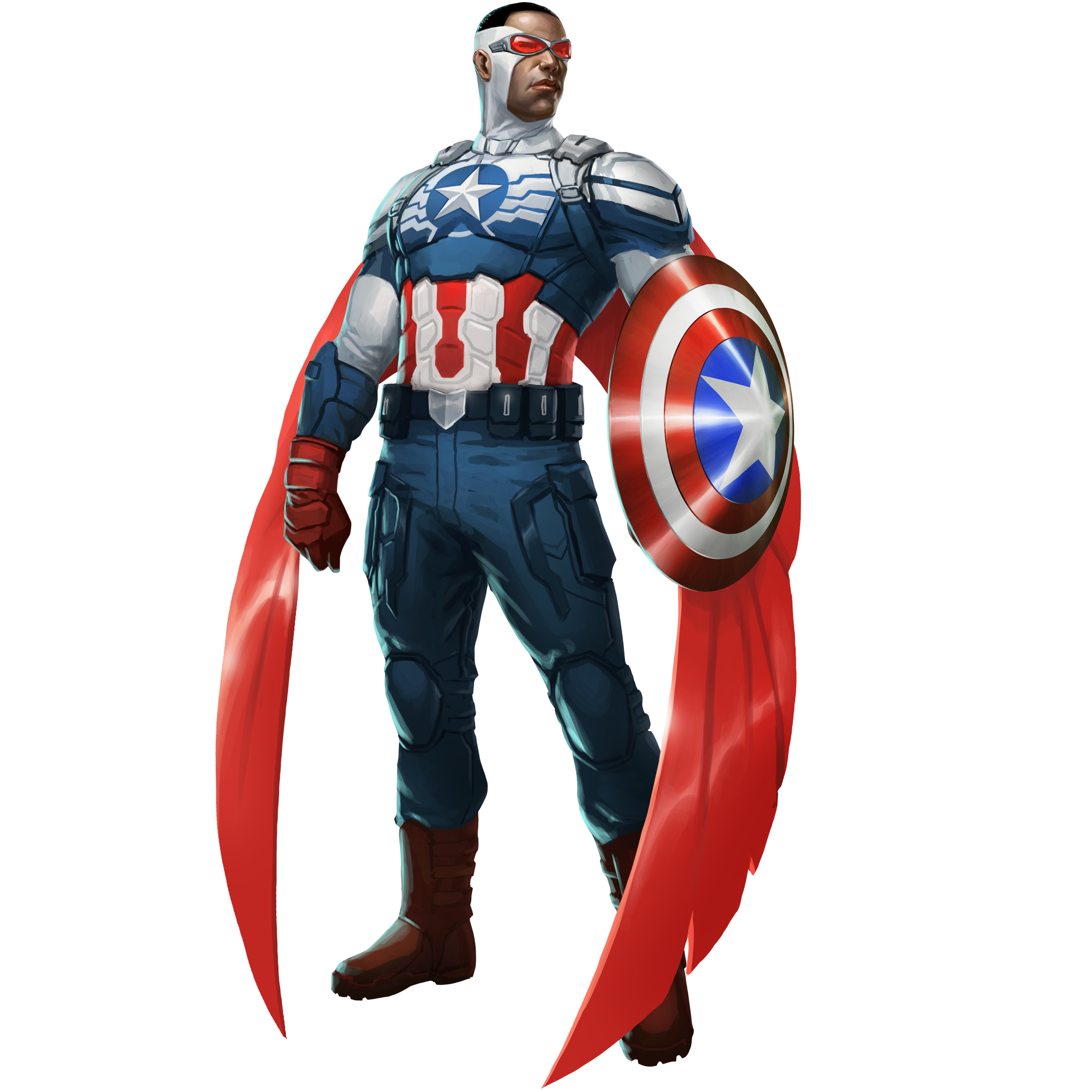 Drawing marvel captain america. Sam wilson mpq super