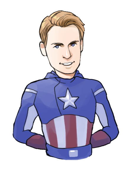 Drawing marvel captain america. Avengers by hallpen on