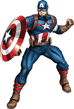 Drawing marvel captain america. Avengers recruits create your