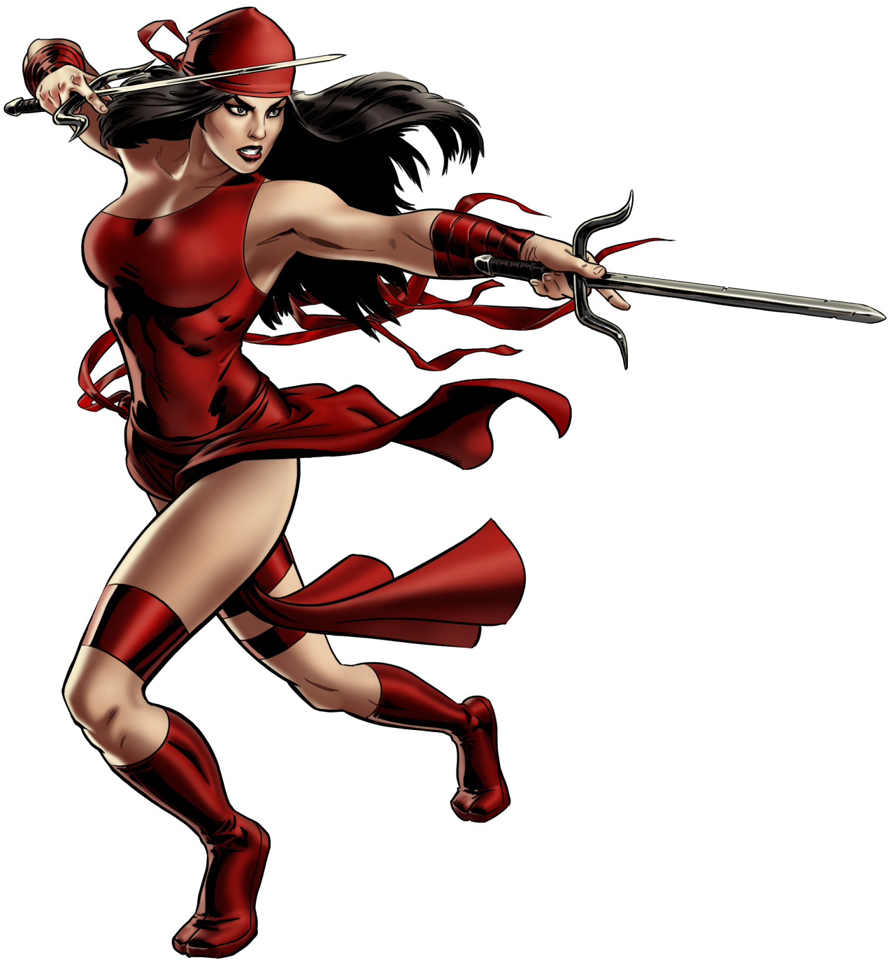 Drawing marvel elektra. Daily dose of avengers