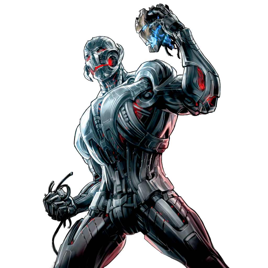 Drawing marvel battle. Mobile lines ultron the