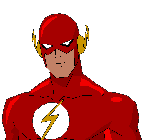 Drawing marvel flash. Collection of free flashes