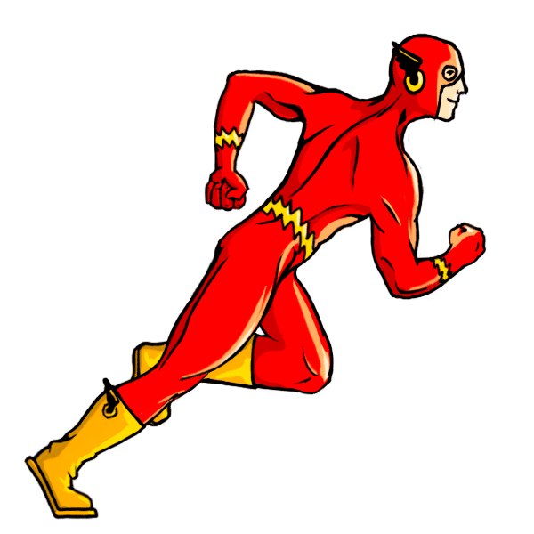 Drawing marvel flash. How to draw characters