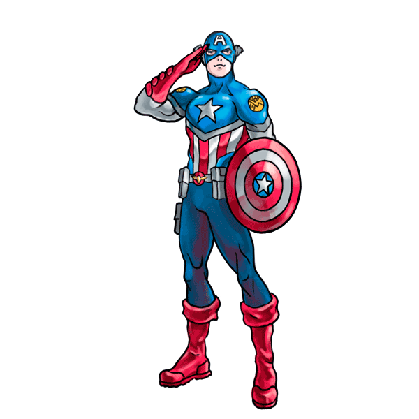 Drawing marvel captain america. How to draw characters