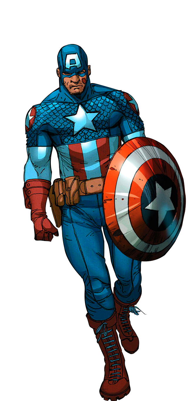 Ultimate artwork by bob. Drawing marvel captain america clipart transparent library