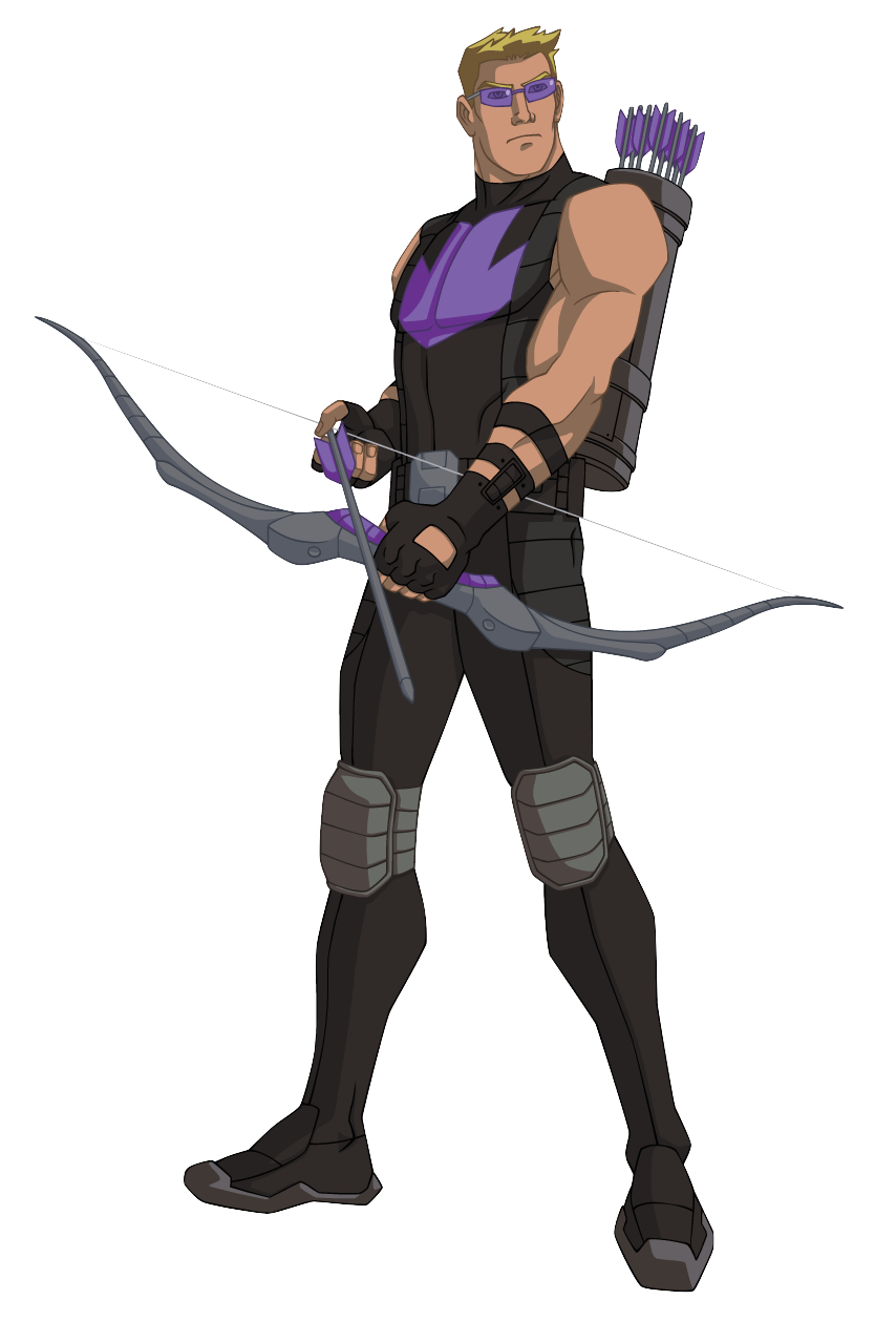 Drawing marvel heroine. Hawkeye from s avengersassemble