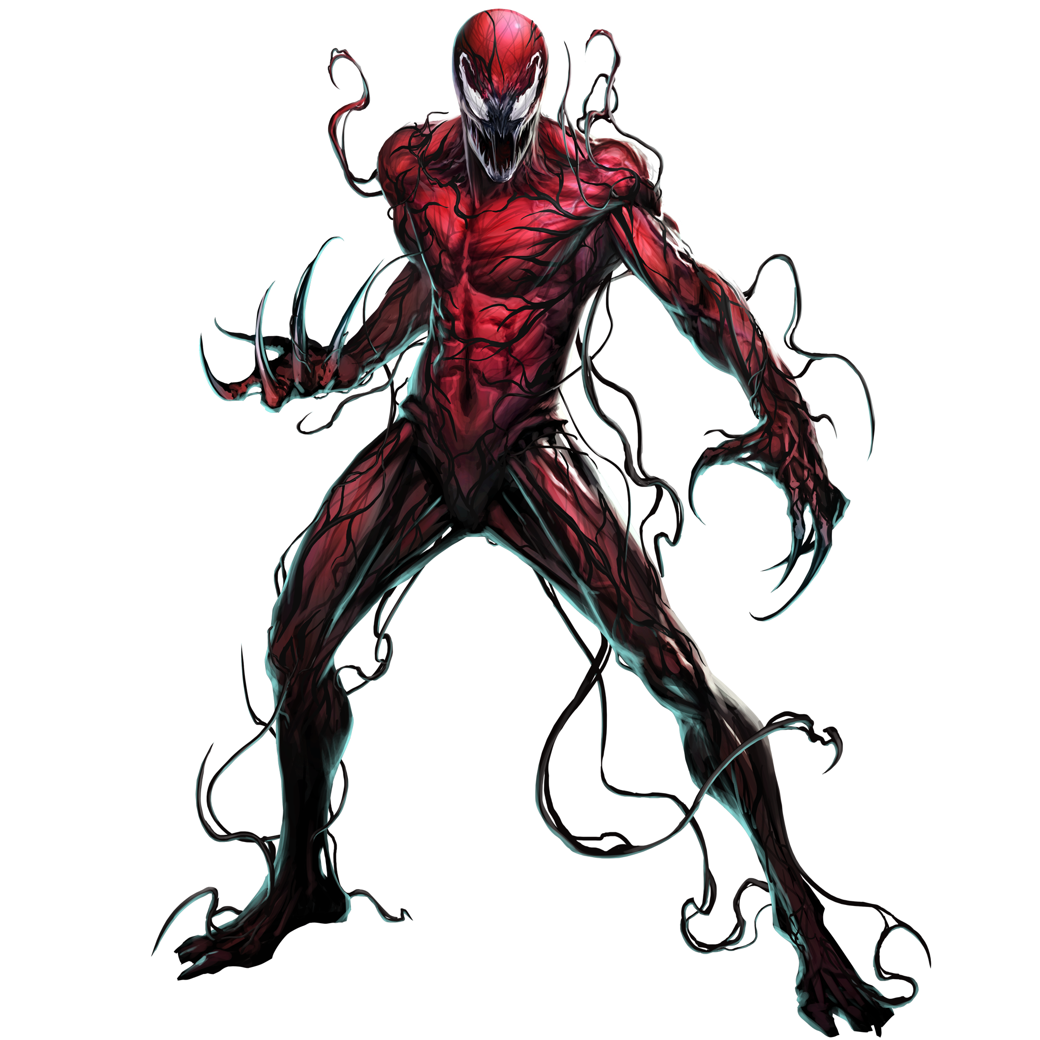 Drawing marvel realistic. Carnage superhero art pinterest