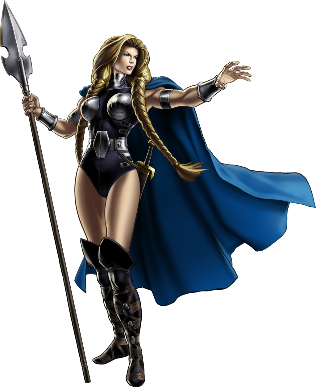 Drawing marvel valkyrie. Avengers alliance by ratatrampa