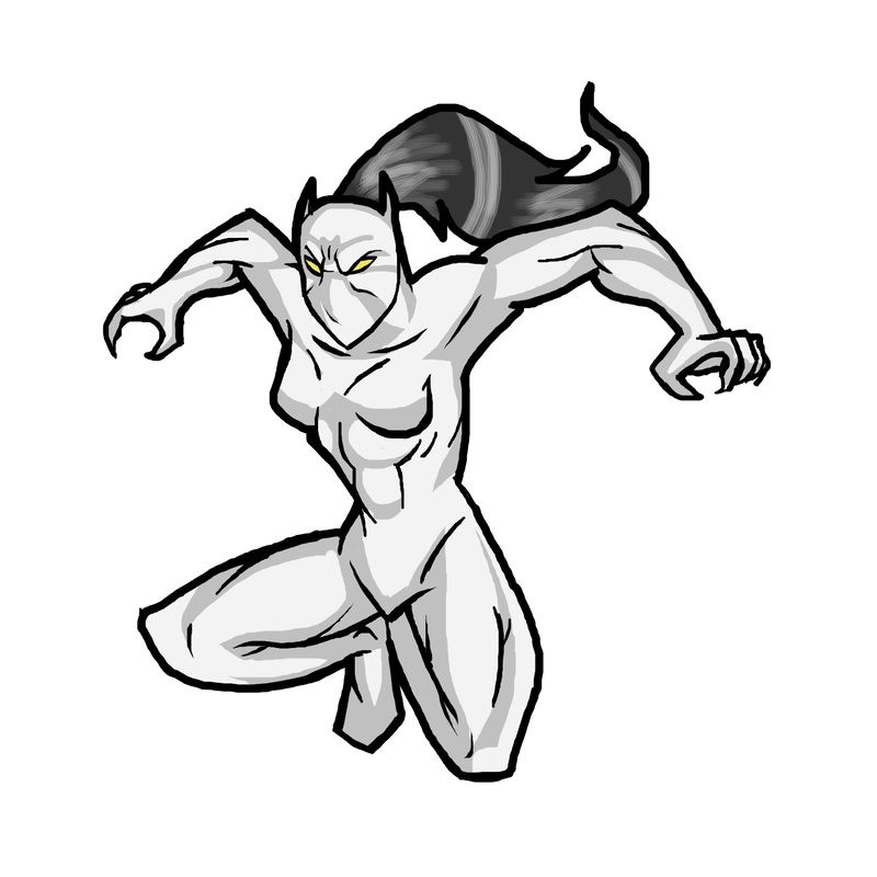 Drawing marvel white tiger. Ultimate spiderman by budtheartguy