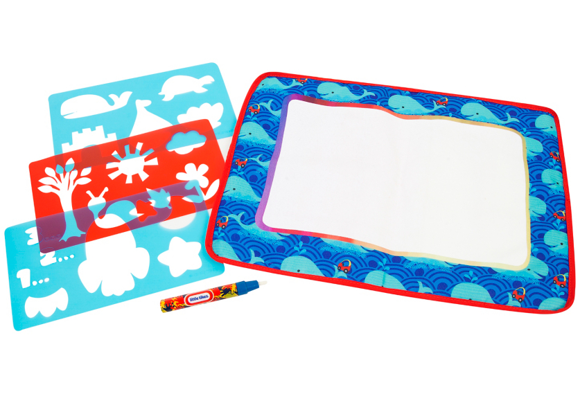 Drawing mat doodle. Little tikes water creativity